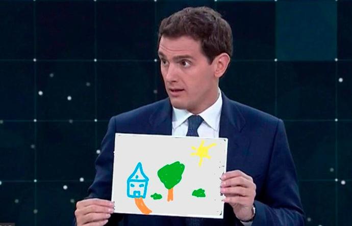 Uno de los memes del debate electoral celebrado en RTVE