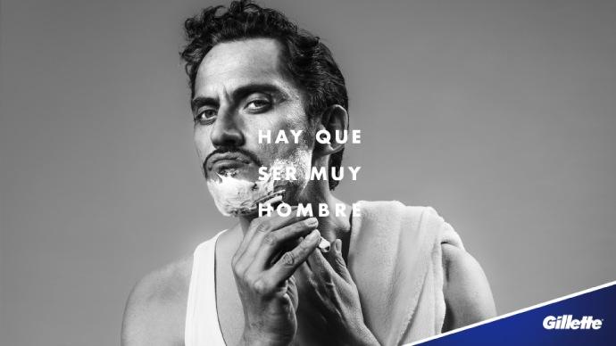 Gillette renueva su imagen de marca con la acción 'Hay que ser muy hombre'