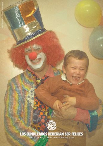 """""""Los cumpleaños deberían ser felices""""."""