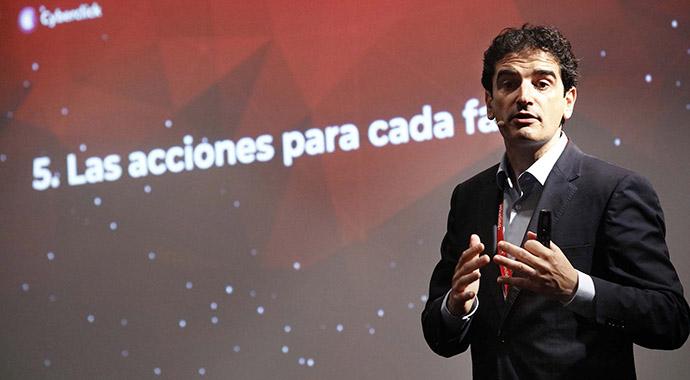 David Tomás, cofundador de la empresa especializada en marketing y publicidad digital, Cyberclick.