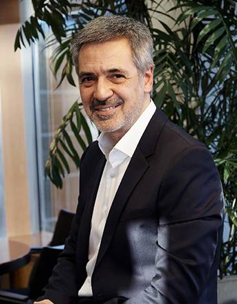 David Corral, codirector de El Sol y presidente y ceo de BBDO España.