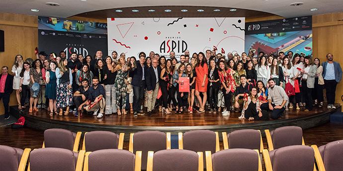 Entrega de galardones de los Premios Aspid 2019