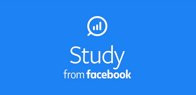 Facebook lanza Study from Facebook, una app para analizar las aplicaciones descargadas de los usuarios