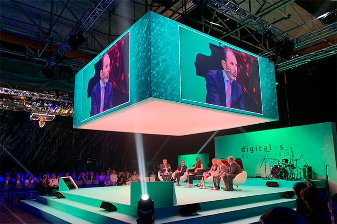 Una de los debates celebrados en DigitalEs Summit 2019.