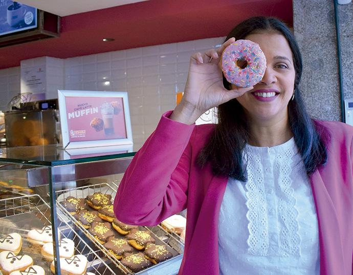Karina Castillo, directora de marketing y comunicación de Dunkin' Coffee España