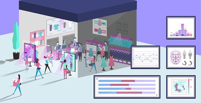 La aplicación de la analítica en el sector retail permitirá a las empresas mejorar la experiencia de cliente.