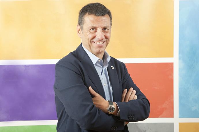 Paolo Tafuri, el nuevo director general de Danone Iberia, y xx.