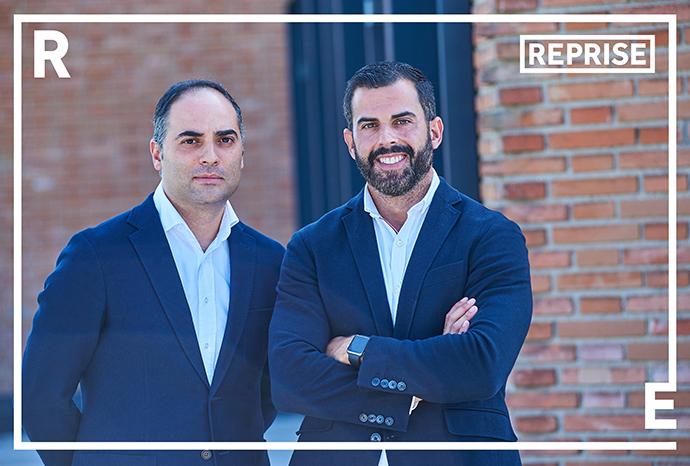 De izquierda a derecha, Arturo Valero y Vicente Ros, managing directors de Reprise Digital.
