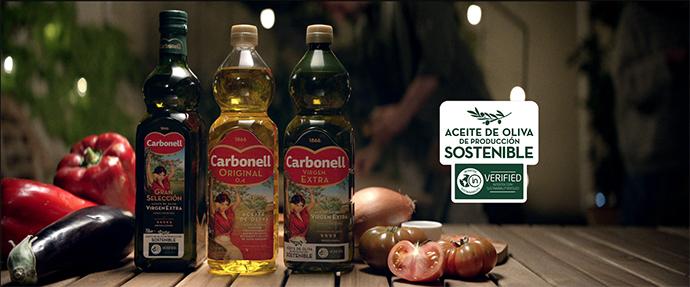 El spot busca dar visibilidad a la producción de sostenible del aceite de oliva de la marca para así garantizar un cultivo tradicional.
