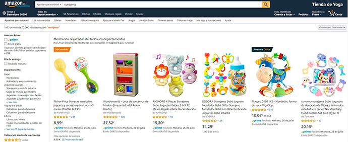 Los anuncios de producto patrocinado de Amazon condujeron a un 102% más de ventas que en 2018