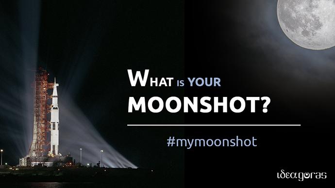 Ideagoras ha lanzado la campaña #MyMoonshot para homenajear el aniversario del primer viaje a la luna, del 16 al 24 de julio.