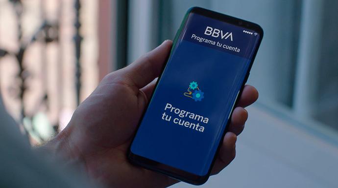 La automatización llega a la app de BBVA a través de Programa tu cuenta