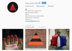 Instagram de Doritos.