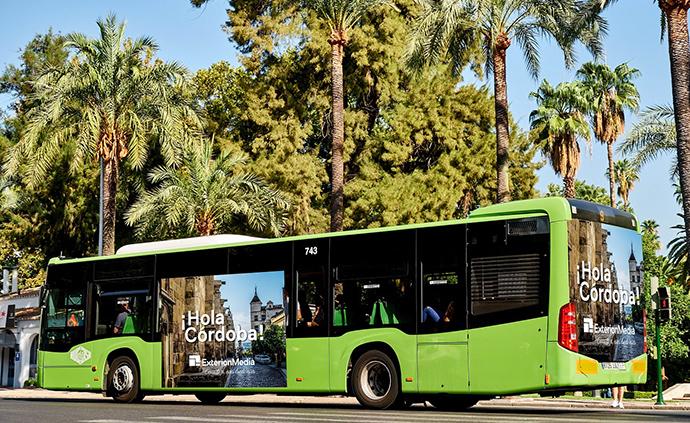 Exterion Media gana la concesión publicitaria de los autobuses urbanos de Córdoba