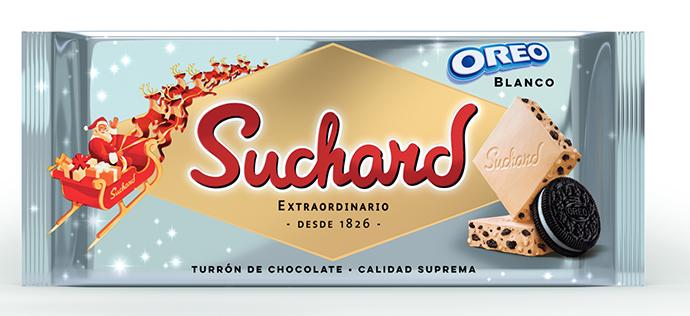 Nuevo producto de Suchard: Oreo Blanco.