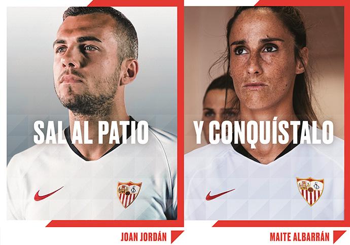 El Sevilla F.C. anima a sus jugadoras y seguidoras a salir al patio