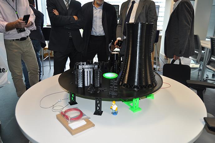 Prototipo de una central nuclear, ejemplo de una infraestructura crítica
