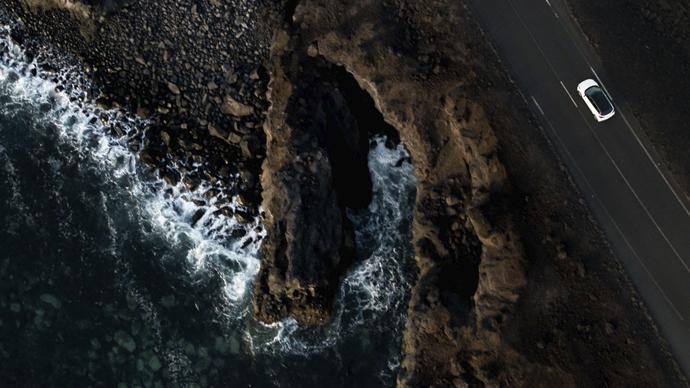 Black is beautiful, una campaña volcánica para Hyundai Canarias
