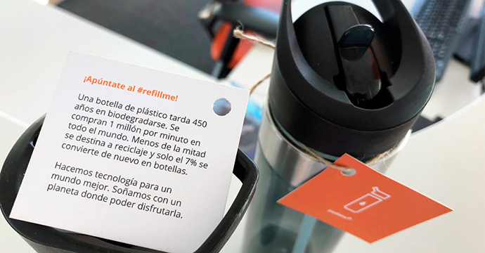 El poder de las botellas personalizadas reutilizables para branding empresarial