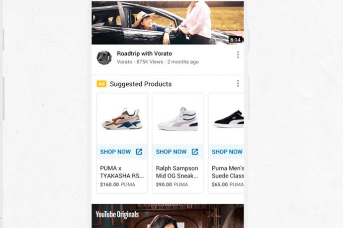 Youtube mostrará anuncios de Shopping en la página de inicio y en la página de resultados de búsqueda