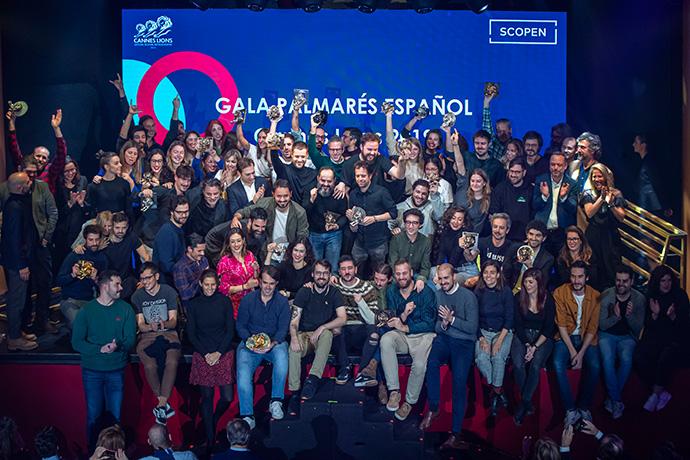 Gala Cannes Lions 2019. Celebrando la creatividad española