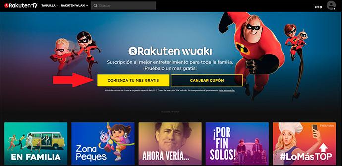 El pasado mes de octubre Rakuten TV anunció el lanzamiento de una sección gratuita en su plataforma OTT