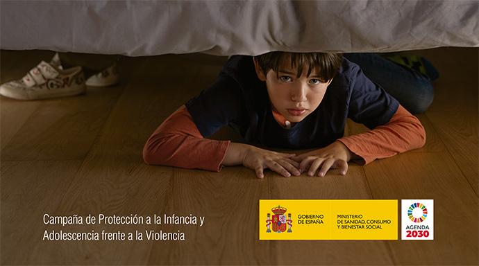 Sanidad conciencia contra la violencia infantil en su última campaña