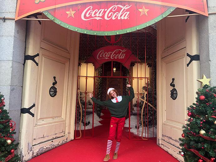 La Casa de la Navidad de Coca - Cola
