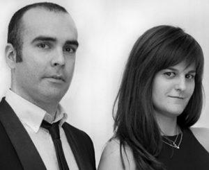 Isaac Montoya y Esther Díaz, de la agencia creativa Vertigo Barcelona.