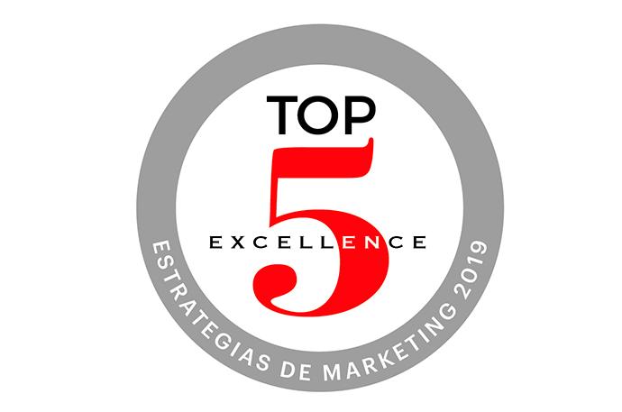 Los premios TOP 5 Excellence-Estrategias de Marketing han sido creados por IPMARK para reconocer las acciones más brillantes, eficaces, relevantes y disruptivas del año.