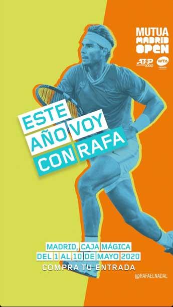 La nueva imagen del Mutua Madrid Open