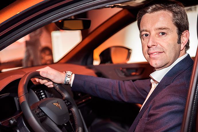 Víctor Sarasola tendrá responsabilidad en el área de marketing y ventas de Seat Cupra
