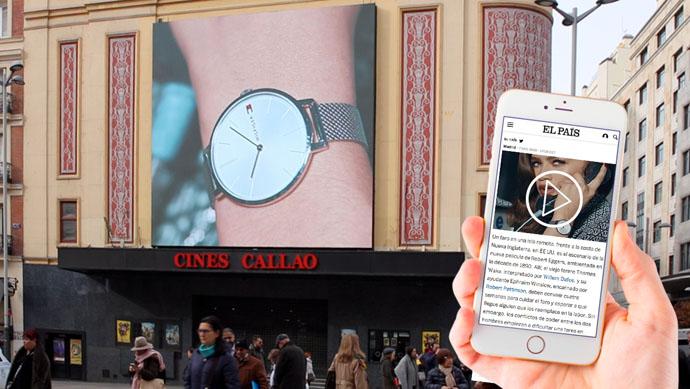 Combinar exterior y mobile, nueva estrategia de Tommy Hilfiger y Callao City Ligths