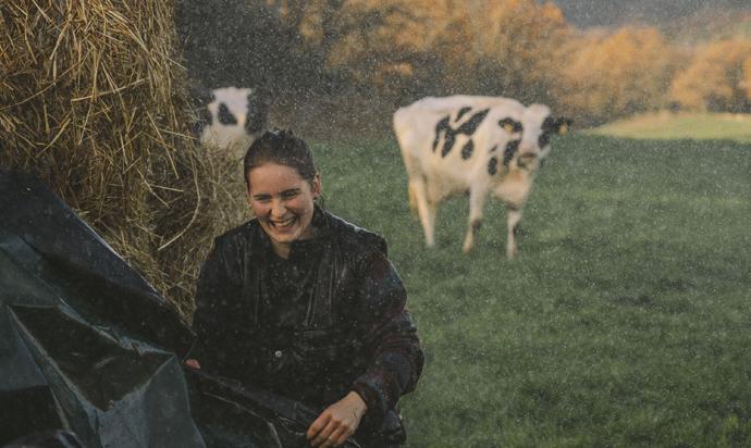 Las granjas familiares protagonistas de las nuevas campañas de Danone