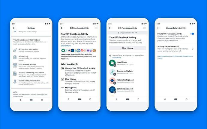 'Actividad fuera de Facebook', la herramienta esperada tras Cambridge Analytica
