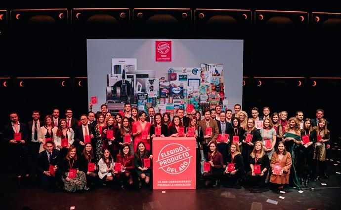 Compañías premiadas en la entrega de premios de la 20º edición del Gran Premio a la Innovación