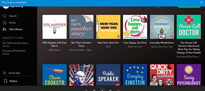 Spotify insertará anuncios de audio en la reproducción de podcasts originales de la plataforma