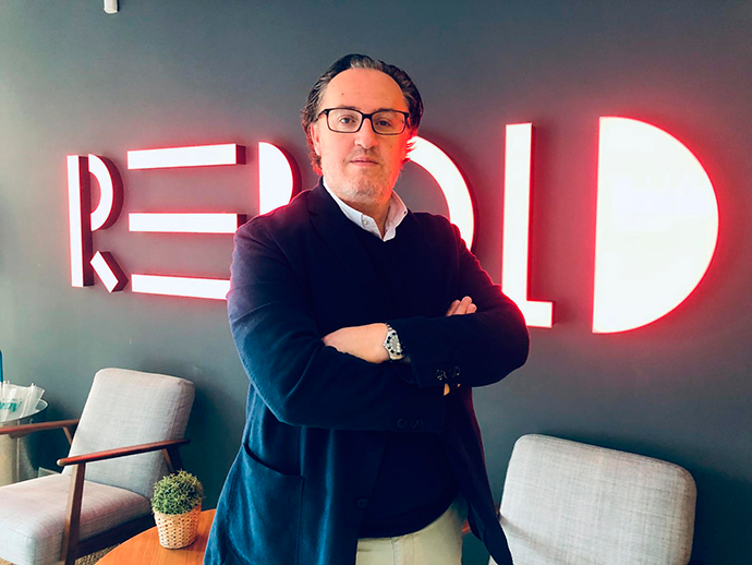 Óscar Simón, nuevo director comercial de Rebold Intelligence Spain