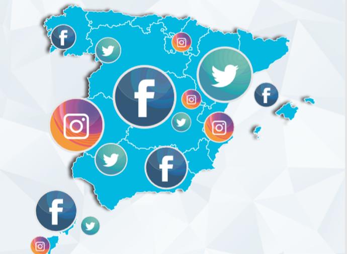 Facebook se desploma en España e Instagram frena su crecimiento