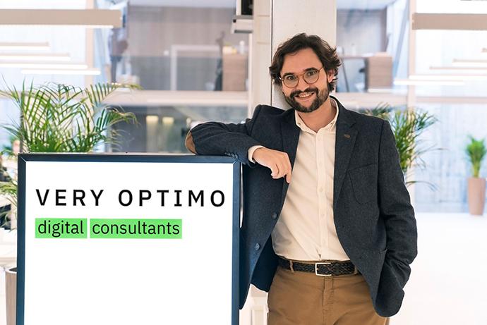 José Barranquero, managing director de Very Optimo.