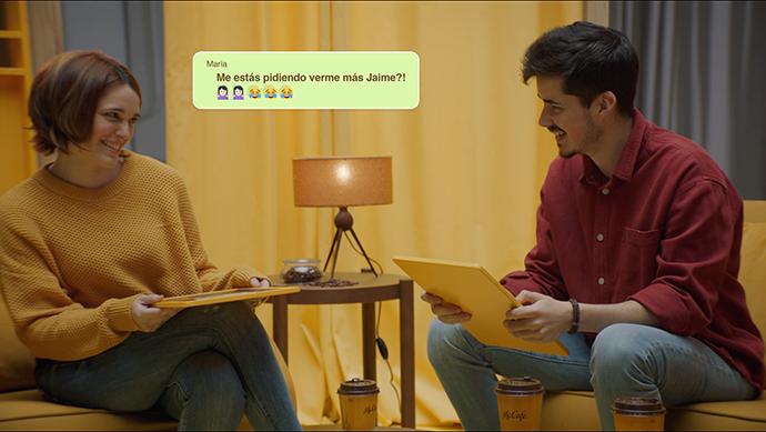 McDonald's, junto a la agencia creativa TBWA España, han realizado una campaña publicitaria 'Hazlo real con McCafé.