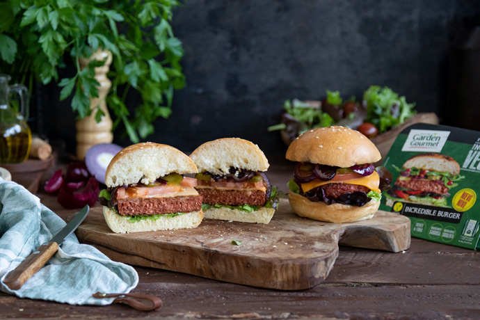 Nestlé trae a España su hamburguesa vegetal que triunfa en Europa, la Incredible Burger