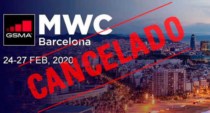 Cancelación de Mobile World Congress