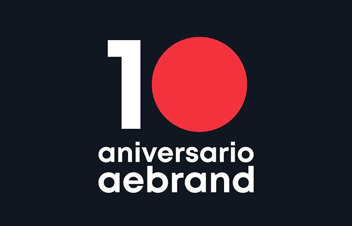 Aebrand celebra el 20 de febrero su 10º Aniversario