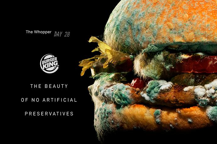 Burger King lanza campaña internacional de su Whopper sin conservantes.