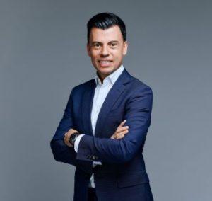 Paco Recuero, group global innovation director & marketing director de Pernod Ricard HQ (Paris). Fotografía: Antoine Doyen.