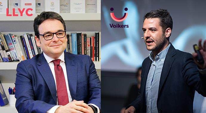LLYC y Voikers firman un acuerdo en consultoría de tecnologías de voz