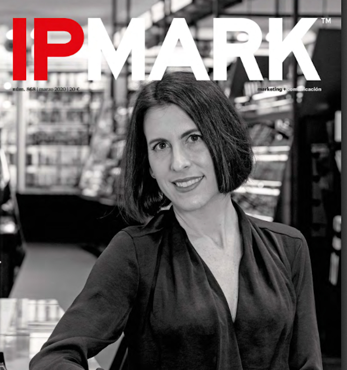 La directora de marketing de Sephora España, Irma Ugarte, es la protagonista de la portada.