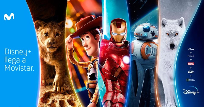 Disney+ se alía con Movistar para su llegada a España