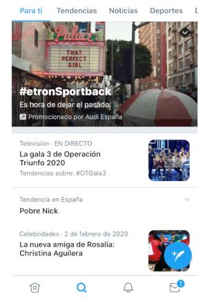 Automoción, Retail y Ocio, primeros sectores en probar Spotlight de Twitter